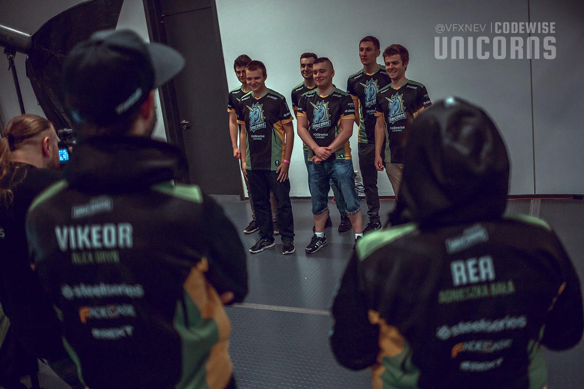 Sesja zdjęciowa Codewise Unicorns